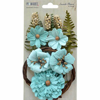 49 and Market - Handmade Flowers - Seaside Blooms - Sea Breeze