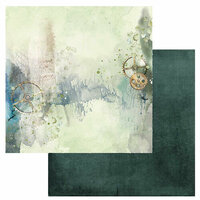 49 and Market - Serendipitous Collection - 12 x 12 Double Sided Paper - Rain Storm