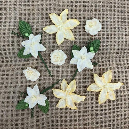 49 and Market - Handmade Flowers - Stargazers - Lemon Drop