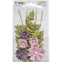49 and Market - Flower Embellishments - Sugar Petals - Huckleberry