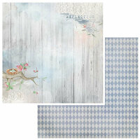 49 and Market - Sweet Reflections Collection - 12 x 12 Double Sided Paper - Reflections