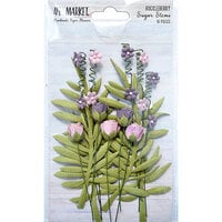 49 and Market - Flower Embellishments - Sugar Stems - Huckleberry