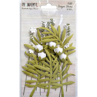 49 and Market - Flower Embellishments - Sugar Stems - Fluff