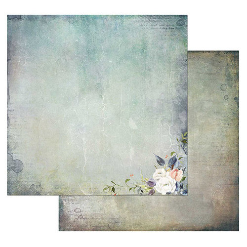 49 and Market - Tattered Garden Collection - 12 x 12 Double Sided Paper - Tattered Beauty