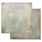49 and Market - Tattered Garden Collection - 12 x 12 Double Sided Paper - Tattered Crackles
