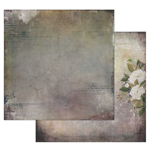 49 and Market - Tattered Garden Collection - 12 x 12 Double Sided Paper - Tattered Playground