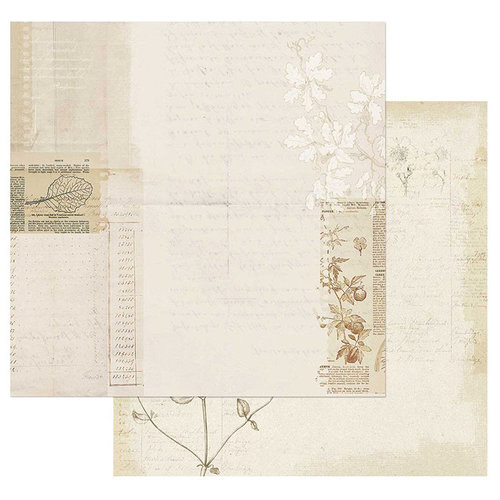 49 and Market - Vintage Artistry Collection - 12 x 12 Double Sided Paper - Laws of Nature