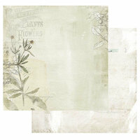 49 and Market - Vintage Artistry Collection - 12 x 12 Double Sided Paper - Seeds of Love