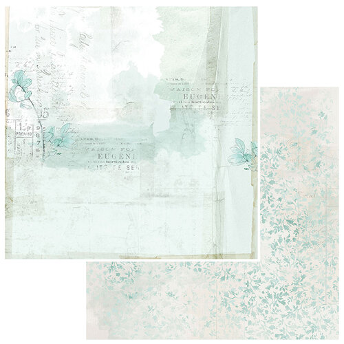 49 and Market - Vintage Artistry Sky Collection - 12 x 12 Double Sided Paper - Admit One