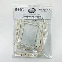 49 and Market - Vintage Artistry Sky Collection - Stitched Frames