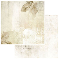 49 and Market - Vintage Artistry Natural Collection - 12 x 12 Double Sided Paper - Gilded