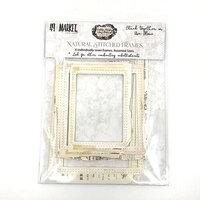 49 and Market - Vintage Artistry Natural Collection - Stitched Frames