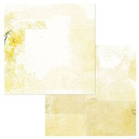 49 and Market - Vintage Artistry Butter Collection - 12 x 12 Double Sided Paper - Mellow