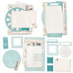 49 and Market - Vintage Artistry Sky Collection - Nouveau Collage Stack