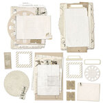 49 and Market - Vintage Artistry Natural Collection - Nouveau Collage Stack