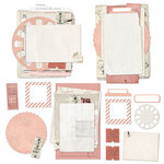 49 and Market - Vintage Artistry Coral Collection - Nouveau Collage Stack