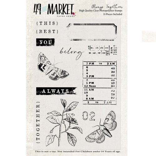 49 and Market - Clear Photopolymer Stamps - Always Together