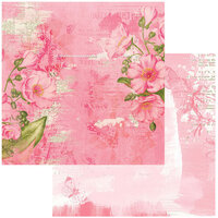 49 and Market - Vintage Artistry Blush Collection - 12 x 12 Double Sided Paper - Radiate