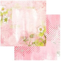 49 and Market - Vintage Artistry Blush Collection - 12 x 12 Double Sided Paper - Serene