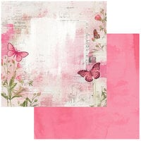 49 and Market - Vintage Artistry Blush Collection - 12 x 12 Double Sided Paper - Soaring