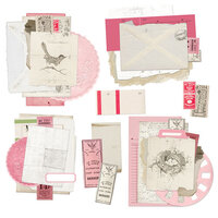 49 and Market - Vintage Artistry Blush Collection - Ephemera