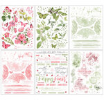 49 and Market - Vintage Artistry Blush Collection - Rub-On Transfers