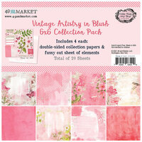 49 and Market - Vintage Artistry Blush Collection - 6 x 6 Collectors Pack