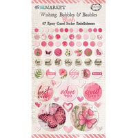 49 and Market - Vintage Artistry Blush Collection - Wishing Bubbles and Baubles