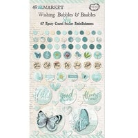 49 and Market - Vintage Artistry Sky Collection - Wishing Bubbles and Baubles