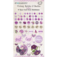 49 and Market - Vintage Artistry Lilac Collection - Wishing Bubbles and Baubles