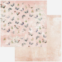49 and Market - Vintage Artistry In Color Collectors Collection - Volume One - 12 x 12 Double Sided Paper - Paper Six