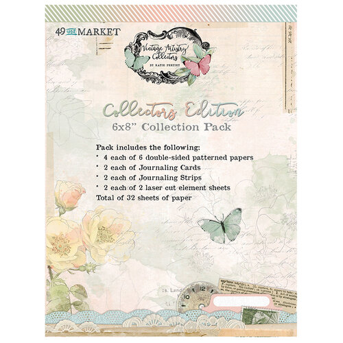 49 and Market - Vintage Artistry In Color Collectors Collection - Volume One - 6 x 8 Collection Pack