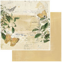 49 and Market - Vintage Artistry Everyday Collection - 12 x 12 Double Sided Paper - Convivial