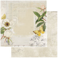 49 and Market - Vintage Artistry Everyday Collection - 12 x 12 Double Sided Paper - Garden Variety