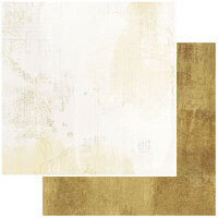 49 and Market - Vintage Artistry Everyday Collection - 12 x 12 Double Sided Paper - Golden Dream