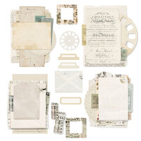 49 and Market - Vintage Artistry Everyday Collection - Ephemera Collage Stack