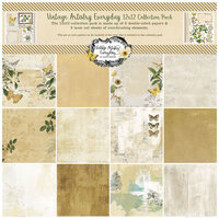 49 and Market - Vintage Artistry Everyday Collection - 12 x 12 Collection Pack