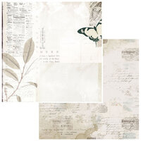 49 and Market - Vintage Artistry Essentials Collection - 12 x 12 Double Sided Paper - Affirmative