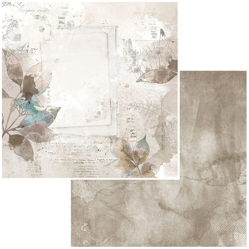 49 and Market - Vintage Artistry Essentials Collection - 12 x 12 Double Sided Paper - Virtue