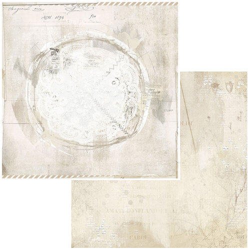 49 and Market - Vintage Artistry Essentials Collection - 12 x 12 Double Sided Paper - Savor