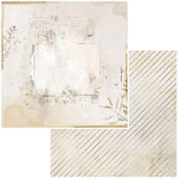 49 and Market - Vintage Artistry Essentials Collection - 12 x 12 Double Sided Paper - Essence