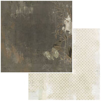 49 and Market - Vintage Artistry Essentials Collection - 12 x 12 Double Sided Paper - Shadowy