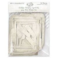 49 and Market - Vintage Artistry Essentials Collection - 3 x 4 File Frame Set