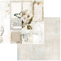 49 and Market - Vintage Artistry Essentials Collection - 12 x 12 Double Sided Paper - Journal Cards