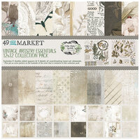 49 and Market - Vintage Artistry Essentials Collection - 12 x 12 Collection Pack
