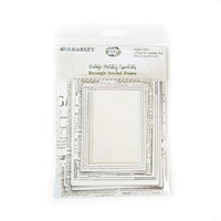 49 and Market - Vintage Artistry Essentials Collection - Rectangle Stitched Frames