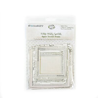 49 and Market - Vintage Artistry Essentials Collection - Square Stitched Frames