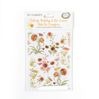 49 and Market - Vintage Artistry In The Leaves Collection - Rub-On Transfers