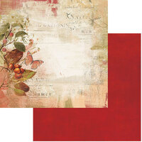49 and Market - Vintage Artistry In The Leaves Collection - 12 x 12 Double Sided Paper - Splendor