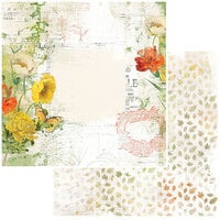 49 and Market - Vintage Artistry In The Leaves Collection - 12 x 12 Double Sided Paper - Harvest